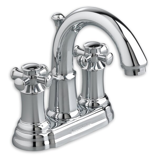 Portsmouth Centerset Bathroom Faucet with Double Cross Handles by American Standard