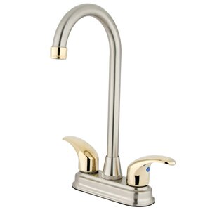 Kingston Brass Legacy Double Handle Centerset Bar Faucet