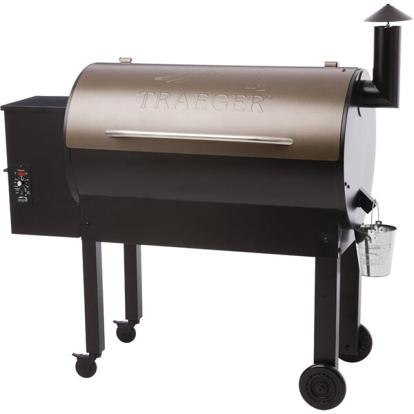 34 Texas Elite Wood Pellet Grill by Traeger Wood-Fired Grills