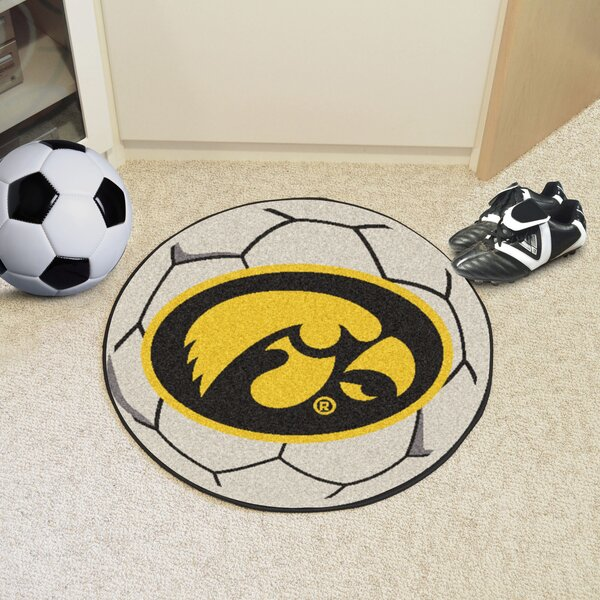 NCAA University of Iowa Soccer Ball by FANMATS