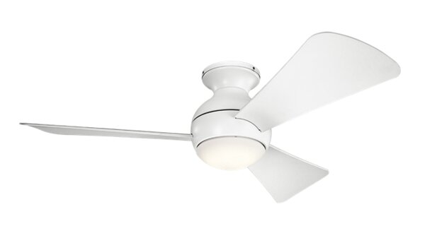 44 Chaires 3 Blade Ceiling Fan by Mercury Row