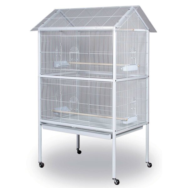 Pointed Top Floor Bird Aviary by Prevue Hendryx