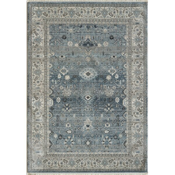 Omarion Light Blue Area Rug by Astoria Grand