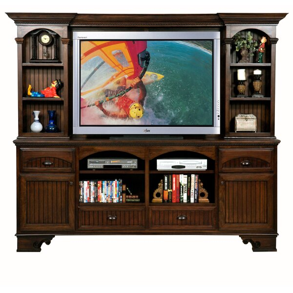 Vicknair Solid Wood Entertainment Center For TVs Up To 60 Inches By Darby Home Co