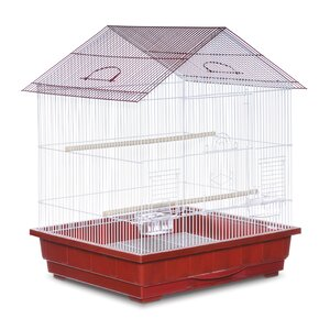 Offset Roof Cockatiel  Bird Cage