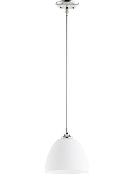 Enclave 1-Light Cone Pendant by Quorum