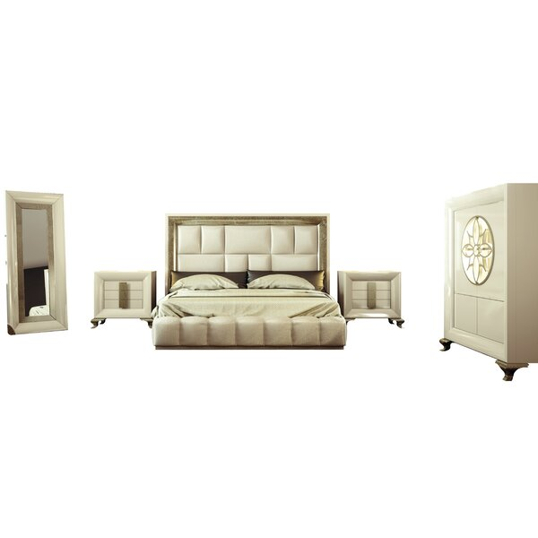 Jerri Standard 5 Piece Bedroom Set by Everly Quinn Everly Quinn