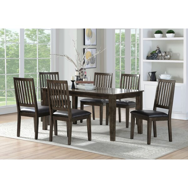 Iyanna 7 Piece Dining Set by Millwood Pines Millwood Pines