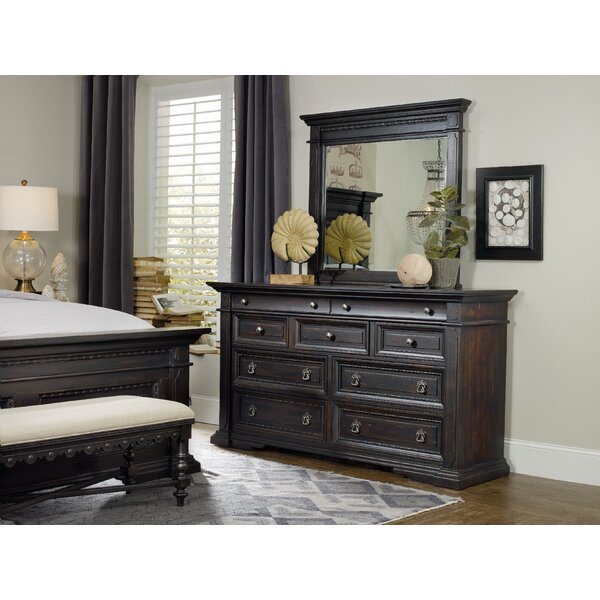 Treviso 9 Drawer Dresser with Mirror by Hooker Furniture