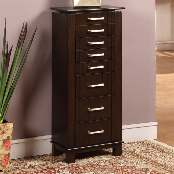 Champion Jewelry Armoire with Mirror by Wildon Home®