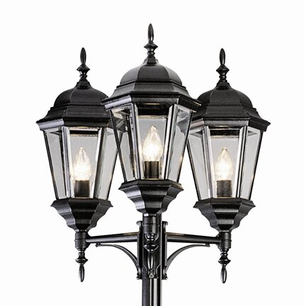 Fairweather 3-Light 98 Post Light by Darby Home Co