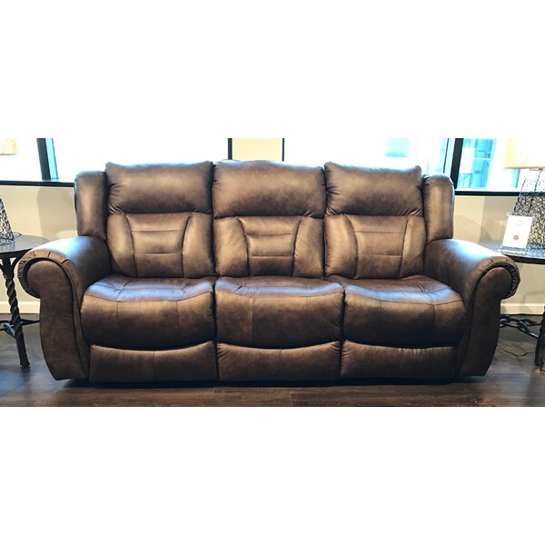 Best Design Titan Leather Reclining Sofa By Southern Motion