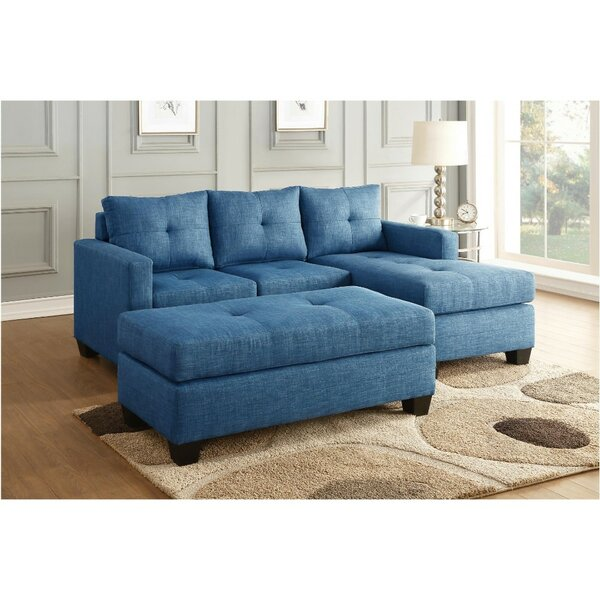 Carpio Reversible Sectional by Wrought Studio