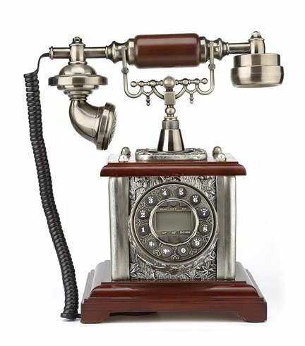 Dial Desk Telephone by LNC Home