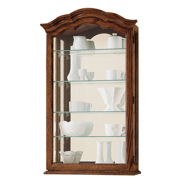 Brammer Wall-Mounted Curio Cabinet by Darby Home Co