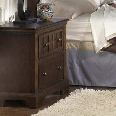 Merrinda 2 Drawer Nightstand by Charlton Home