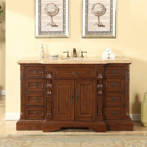 Vara 60 Single Sink Bathroom Vanity Set