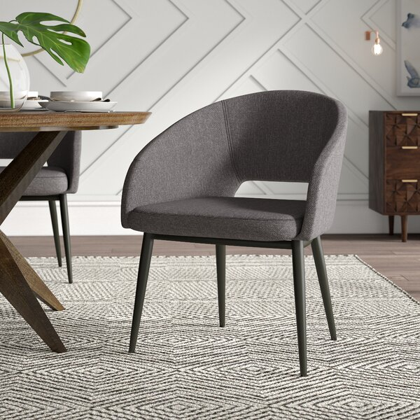 Evanston Upholstered Arm Chair by Mercury Row