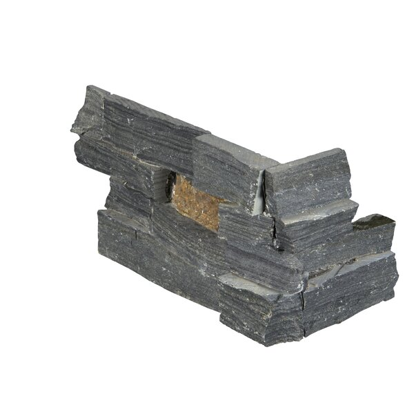 6 x 18 Slate Splitface Tile in Gray/Rust by MSI