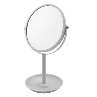Best Price Albury Makeup/Shaving Mirror By Symple Stuff