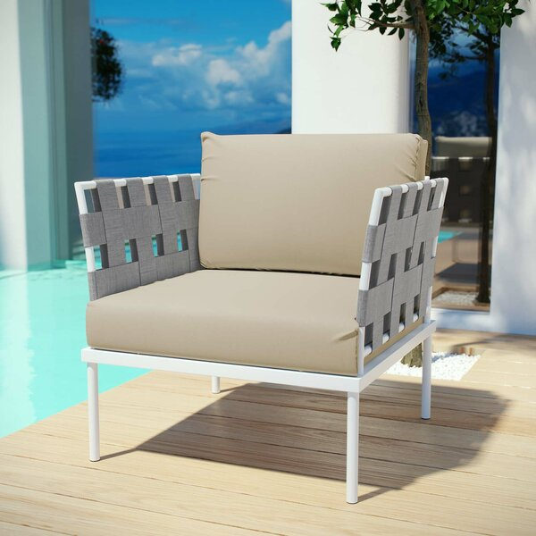 Darnell Patio Dining Chair with Cushion by Brayden Studio