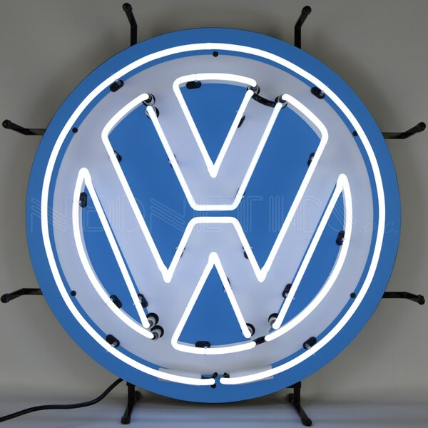 Volkswagen VW  Neon Sign by Neonetics