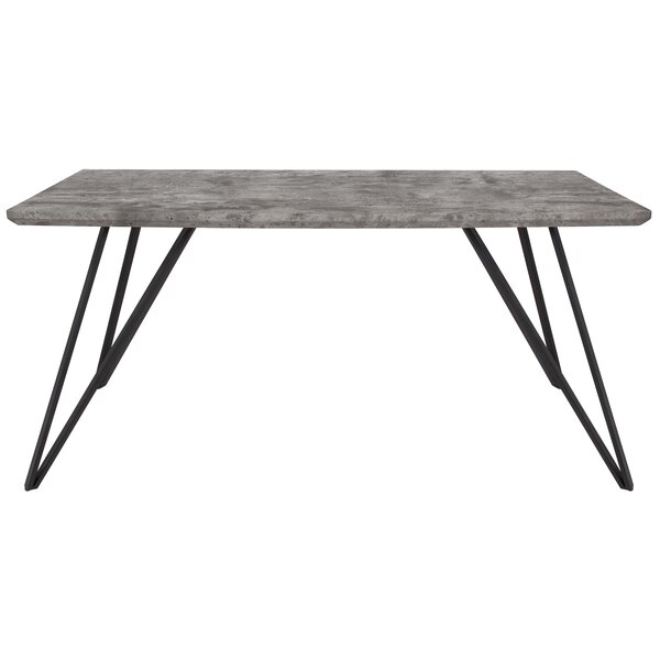 Burrow Dining Table by Union Rustic