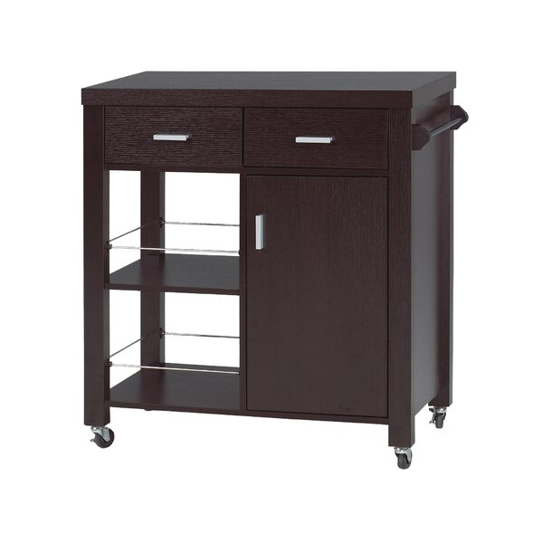 Hamza Kitchen Cart By Latitude Run Cheap