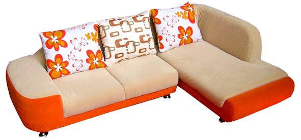 Blossom Sectional by A+ Child Supply