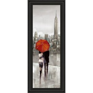 New York Stroll by Ruanne Manning Framed Painting Print by Classy Art Wholesalers