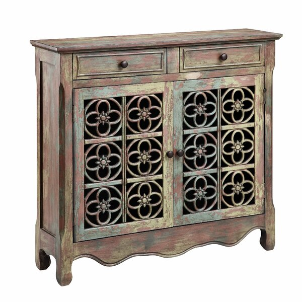 Jeter 2 Drawer 2 Door Accent Cabinet by Bungalow Rose Bungalow Rose