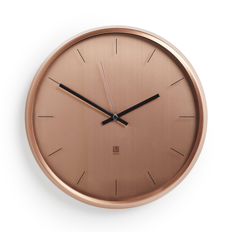Meta 125 Wall Clock Reviews Allmodern