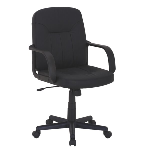Mid-Back Swivel Office Chair by Symple Stuff