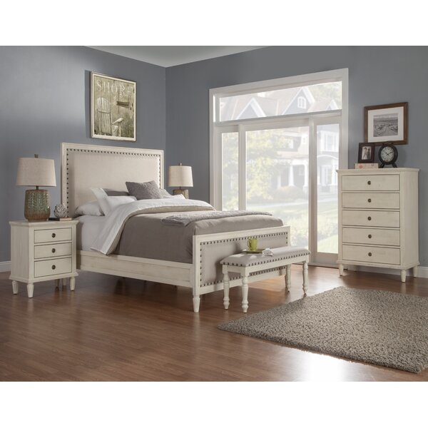 Shirke Panel 5 Piece Bedroom Set by One Allium Way