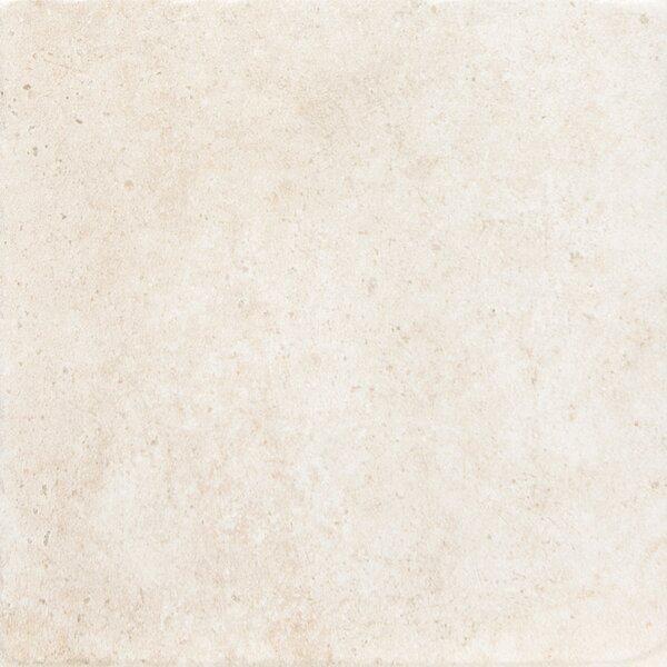 Newberry 16 x 16 Porcelain Field Tile in Bianco by Emser Tile