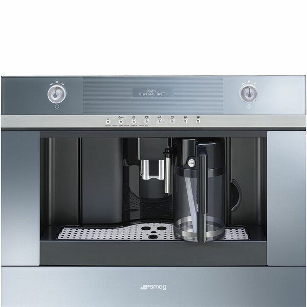 Stainless Steel Coffee Maker by SMEG