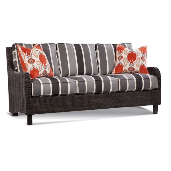Tangier Patio Sofa with Cushions by Braxton Culler