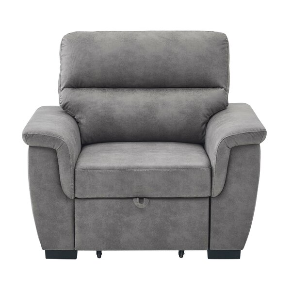 Astala Pull Out Single Convertible Chair by Ebern Designs Ebern Designs