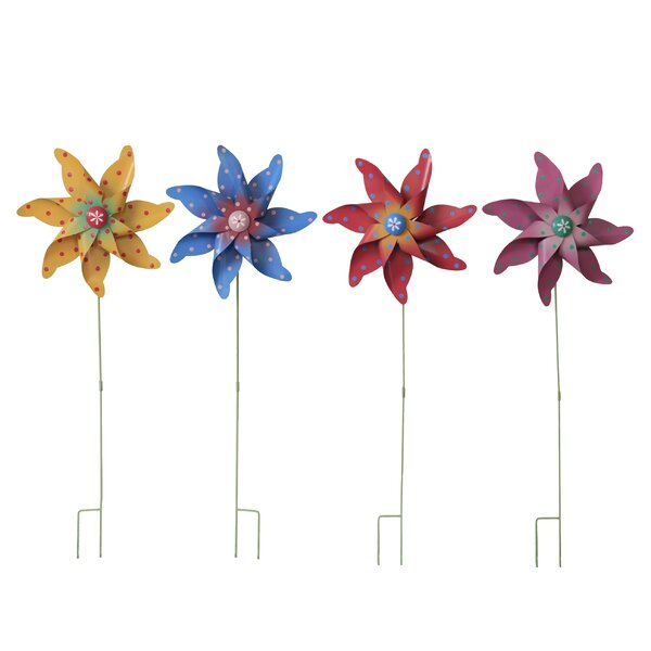 Star Garden Stake (Set of 4) by Attraction Design Home