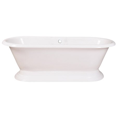 Aqua Eden 72 x 32 Freestanding Soaking Bathtub by Kingston Brass
