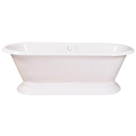 Aqua Eden 72 x 32 Freestanding Soaking Bathtub by Kingston Brass