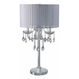 Clearance Crystal Inspired Touch 29.5 Table Lamp By Major-Q