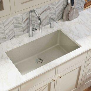 Quartz Classic 33 x 18 Undermount Kitchen Sink ByElkay