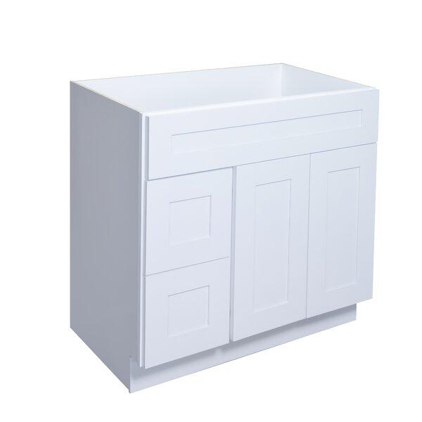 Brilliant 42 Single Bathroom Vanity Base Only
