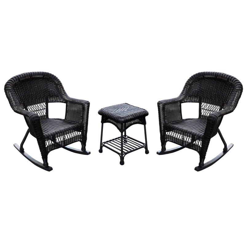 Burtch Wicker Rocking Chairs