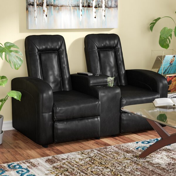 Home Theater Loveseat (Row Of 2) By Red Barrel Studio