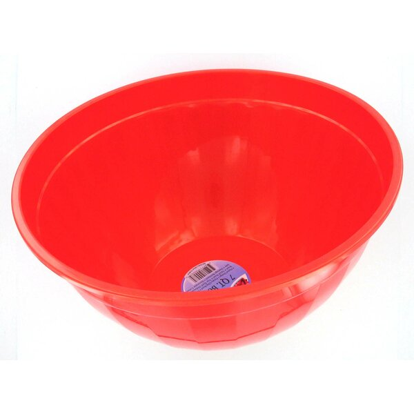 Melamine Gem Gel Salad Bowl by B&R Plastics