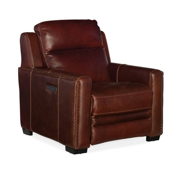 Aviator Power Recliner with Power Headrest & Power Lumbar Support by Hooker Furniture