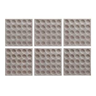 Squares Framed Wall Art (Set Of 6)