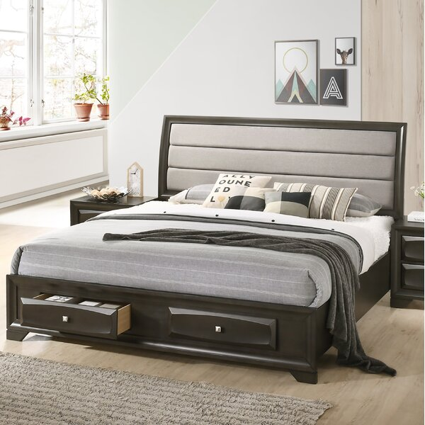 Beagan Upholstered Storage Sleigh Bed by Winston Porter